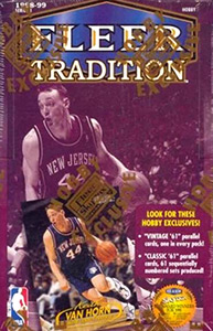 Fleer Tradition NBA 1998-1999