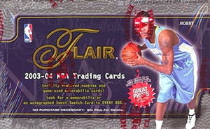 Fleer Flair NBA 2003-2004