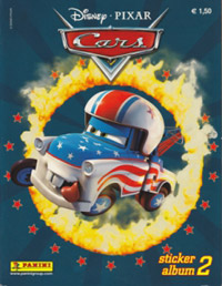 Panini World of Cars 2