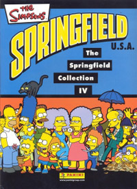 Panini The Simpsons: Springfield collection IV