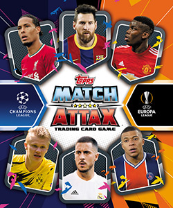 Topps UEFA Champions League 2020-2021. Match Attax