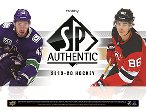 Upper Deck SP Authentic Hockey 2019-2020