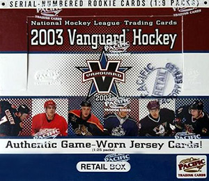 Pacific Vanguard NHL 2002-2003