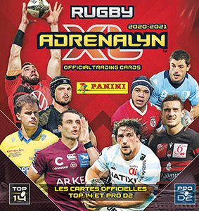 Panini Rugby 2020-2021. Adrenalyn XL