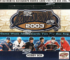 Pacific Exclusive NHL 2002-2003