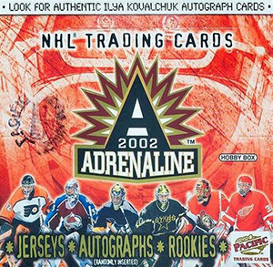 Pacific Adrenaline NHL 2001-2002