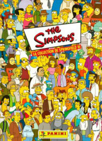 Panini The Simpsons: Springfield collection III