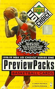 Upper Deck NBA UD Choice 1998-1999