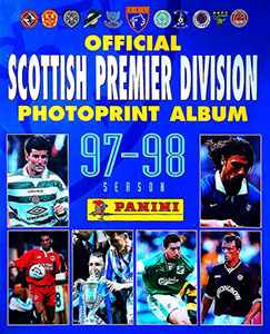 Panini Scottish Premier Division 1997-1998 Photoprints