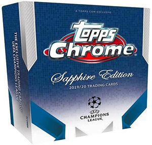 Topps UEFA Champions League Chrome 2019-2020. Sapphire Edition