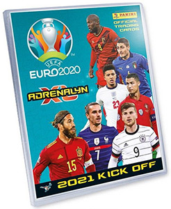 Panini UEFA Euro 2020 Kick Off. Adrenalyn XL