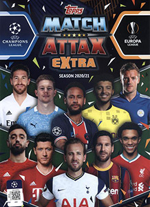 Topps UEFA Champions League 2020-2021. Match Attax Extra