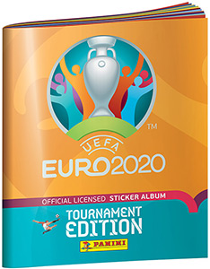 Panini UEFA Euro 2020 Tournament Edition. 678 stickers version