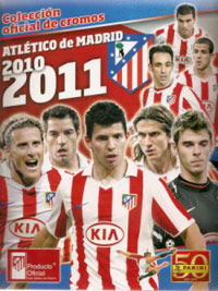 Panini Atletico de Madrid 2010-2011