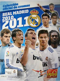 Panini Real Madrid 2010-2011