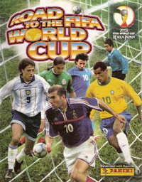 Panini Road to the FIFA World Cup 2002