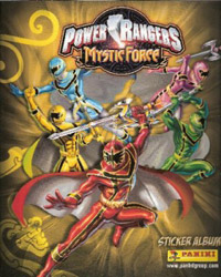 Panini Power Rangers - Mystic Force