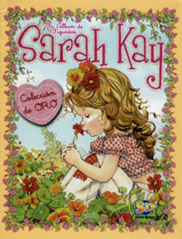 Sticker design Sarah Kay. Coleccion de oro