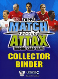 English Premier League 2008-2009. Match Attax