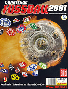 Panini German Football Bundesliga 2000-2001