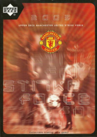 Upper Deck Manchester United 2002-2003. Strike Force
