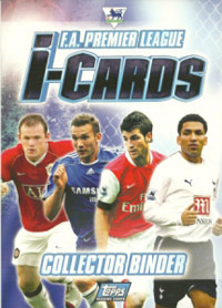English Premier League 2006-2007. i-Cards