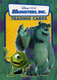 Monsters, Inc. Trading Cards