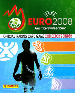 Panini UEFA Euro Austria-Switzerland 2008. Trading Cards Game