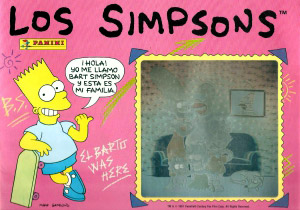 Panini The Simpsons