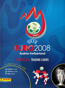 UEFA Euro Austria-Switzerland 2008. Trading Cards