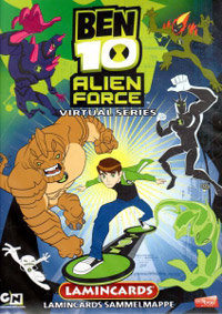 Edibas Collections Ben 10. Alien Force Virtual series