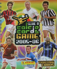 Serie A 2005-2006. Calcio cards game