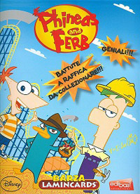 Edibas Collections Phineas & Ferb Barza