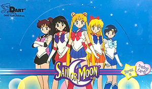 Dart Flipcards World Sailor Moon Trading Cards Series III