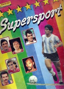 Panini Supersport 1986