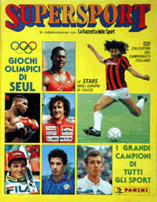 Panini Supersport 1988