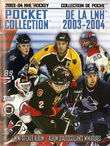 Topps NHL Hockey 2003-2004. Pocket Collection