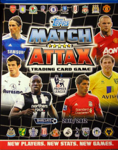 English Premier League 2011-2012. Match Attax
