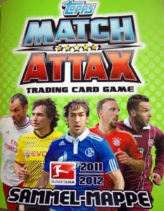 Topps German Football Bundesliga 2011-2012. Match Attax