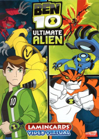 Edibas Collections Ben 10. Ultimate Alien Video Virtual