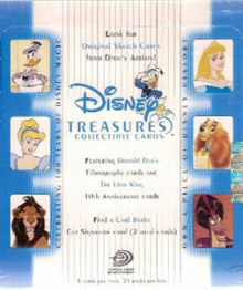 Upper Deck Disney Treasures 2
