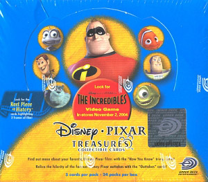 Upper Deck Disney Pixar Treasures