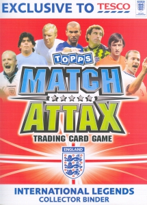 International legends 2010. Match Attax