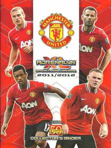 Manchester United 2011-2012. Adrenalyn XL