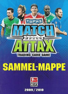 German Football Bundesliga 2009-2010. Match Attax