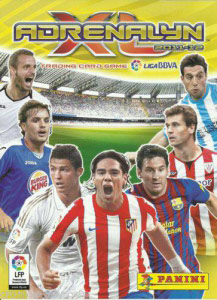 Panini Liga BBVA 2011-2012. Adrenalyn XL