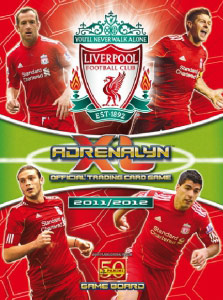 Liverpool FC 2011-2012. Adrenalyn XL