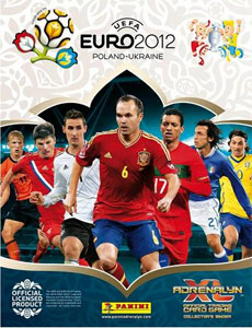 Panini UEFA Euro Poland-Ukraine 2012. Adrenalyn XL