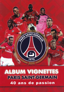 Footprint Paris Saint-Germain 1970-2010. 40 ans de passion