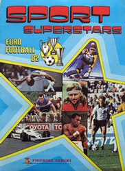 Panini Sport Superstars Euro Football 82